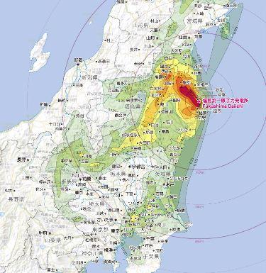 早川由紀夫先生「放射能汚染地図」